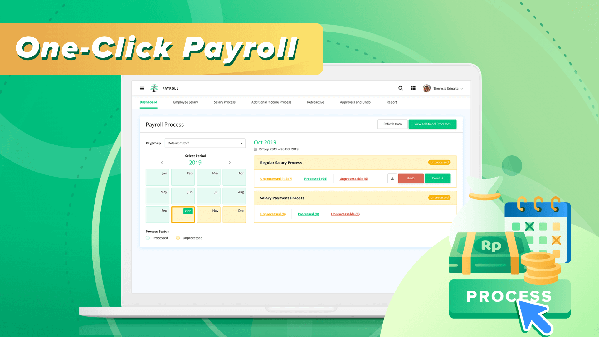 One-Click Payroll